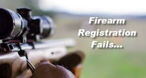 Firearm Registration Fails