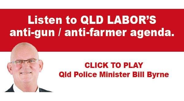 Police Minister Bill Byrne's Anti-farmer agenda