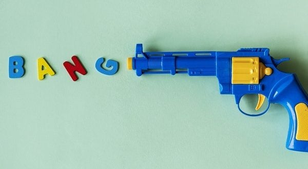 LNP finally goes over the edge  Gel blasters today, NERF